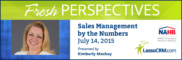 WEBINAR:  Sales Management by the Numbers